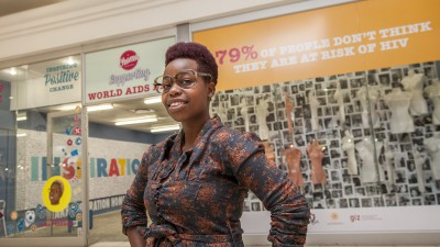 FUNKY CHOMA POP-UP STORE ENGAGES YOUTH ON HIV RISKS